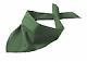 Šátek Triangular Scarf - Dark-green