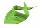 Šátek Triangular Scarf - Lime-green